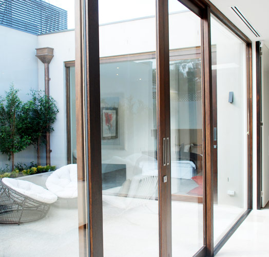 glass window doors